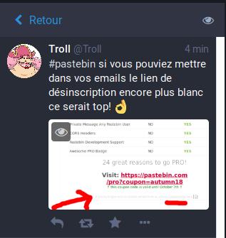 Pastebin Emails